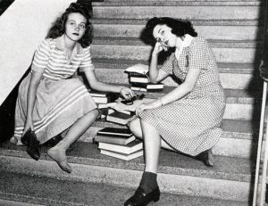 vintage-college-girls