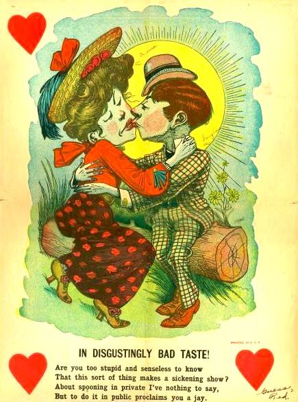 My funny, strange, bizarre, and downright creepy valentine